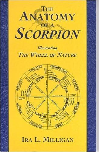 The Anatomy Of A Scorpion Ira L Milligan 9780970237514 Amazon