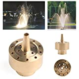 Techinal 3/4'' DN20 Brass Column Fireworks Fountain Nozzle Sprinkler Spray Garden