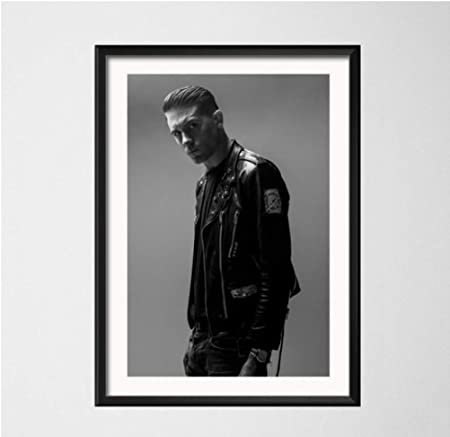 H057 New G-Eazy Rap Music Singer Rapper Star Black White Poster Silk Art