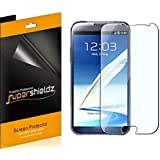 [6-Pack] SUPERSHIELDZ- High Definition Clear Screen Protector Shield For Samsung Galaxy Note 2 + Lifetime Replacements Warranty (AT&T, Verizon, Sprint, T-mobile, All Carriers)-Retail Packaging