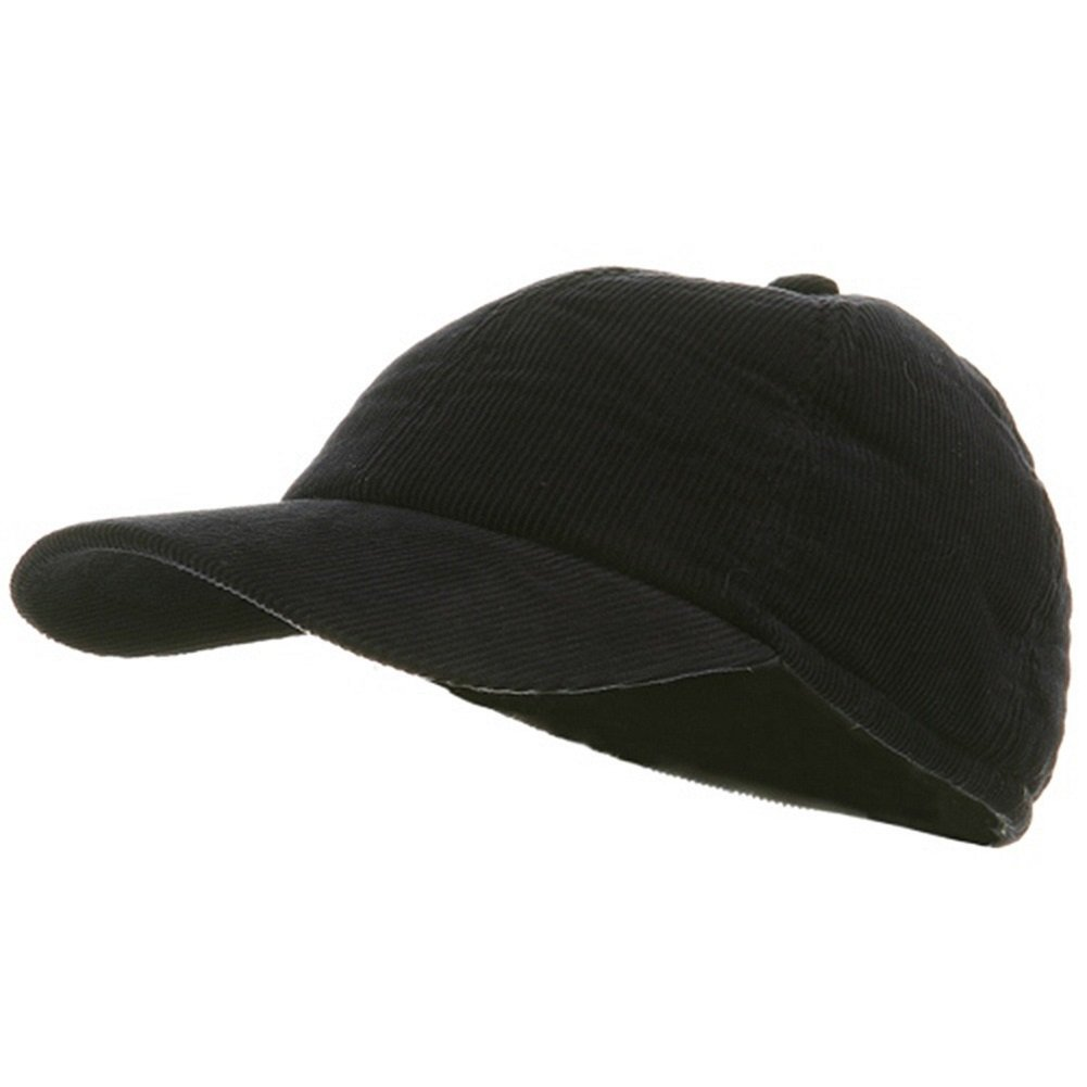 Adult Winter Corduroy Quilted Baseball Cap With Ear Flap Navy at Amazon  Men s Clothing store  194f0aa8dd07