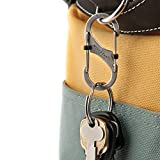 Nite Ize LSB4-11-R3 Carabiner, Size #4, Stainless