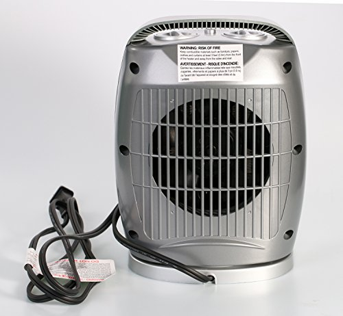 space heater reviews space heater 750w 1500w etl listed oscillating 12394