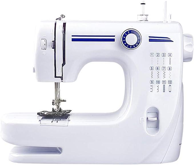 Máquina de coser portátil, máquina de coser multifunción de 12 ...