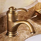 Ceramic Bathtub Faucet Handles Lightinthebox Wall Mounted Traditional Waterfall Bathroom Sink Vessel Faucet Antique Brass Finish Brass Single Handle Widespread Lavatory Faucet One Hole Basin Mixer Tap Centerset