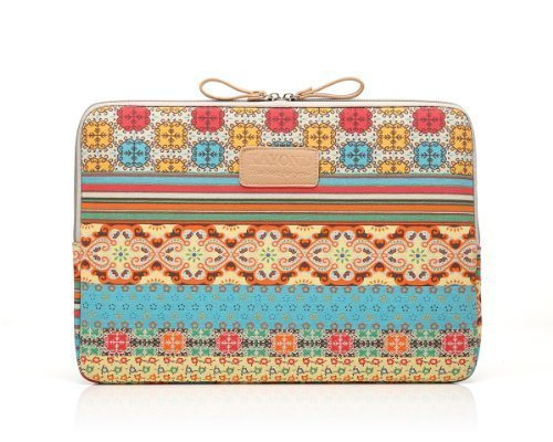 Kayond Bohemian Style Canvas Fabric 15-15.6 Inch Laptop / No