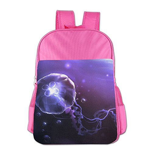 Kid's Moon Jellyfish School Backpack Bookbag For Boys & Girls Aged ()