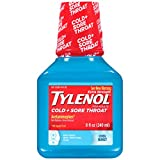 Tylenol Cold Sore Throat with Cool Burst Sensation, 8 Ounce