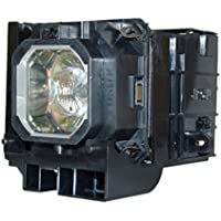 AuraBeam Professional Replacement Projector Lamp NEC NP06LP Housing (Powered Philips)