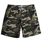 MaaMgic Mens Camo Swim Trunks with Mesh Lining Quick Dry Swim Trunks Bathing Suits 18111859271
