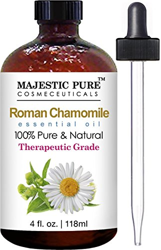 Chamomile Essential Oil From Majestic Pure, 4 Fl. Oz - Premi