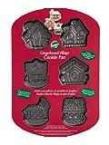 Wilton 6 Cavity Gingerbread Village Cookie Pan