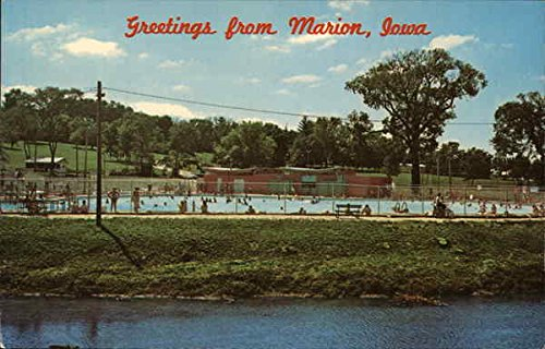 Legion Memorial Pool Marion, Iowa Original Vintage (Legion Pool)