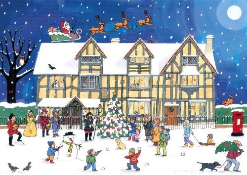 Alison Gardiner 'Christmas at the Old Town House' Large Traditional Advent Calendar Alison Gardiner Designs Ltd AC5