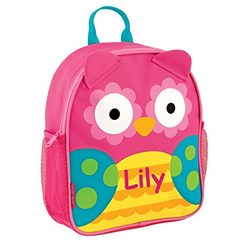 Stephen Joseph Personalized Little Girls' Mini Sidekick Owl Backpack With Name
