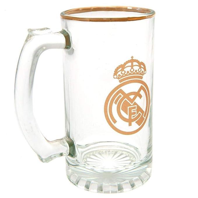 Amazon.com: Tanque de cristal oficial del Real Madrid FC ...
