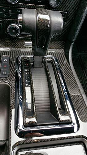 ilikecars55 kits Real Carbon Fiber Dash Kit for 2010-2014 Ford Mustang W/O Navigation ()