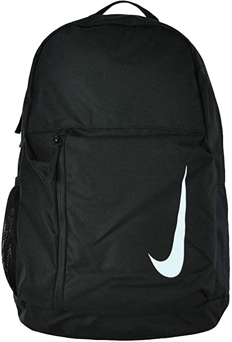 c116674ae Amazon.com: Nike Children's Academy Team Rucksack, Black/White, 45x30x13  cm: Sports & Outdoors