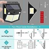 Kaulsoue 160 LED Solar Motion Sensor Light