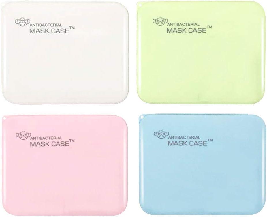Halskette qipuneky 2 Pieces Face Cover Storage Box Seidenschals M-a-s-k-e-nschutzbox f/ür Sekund/ärverschmutzung verhindern Gesichtsabdeckungs Aufbewahrungsbox f/ür Headset