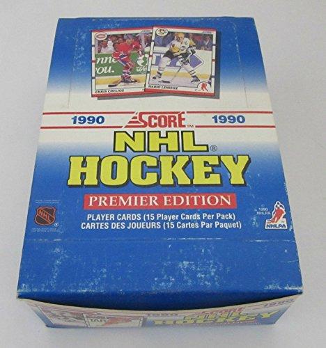1990/91 Score Hockey Box (Bi-Lingual)
