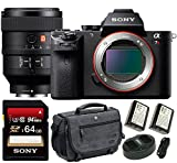 Sony Alpha a7RII Mirrorless Digital Camera (Body Only) w/ Sony FE 100mm f/2.8 STF GM OSS Telephoto Lens Bundle