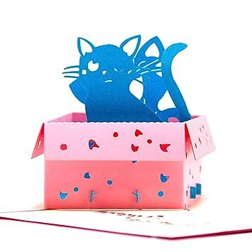 Papel spiritz Pop Up Tarjeta de cumpleaños para niños ...