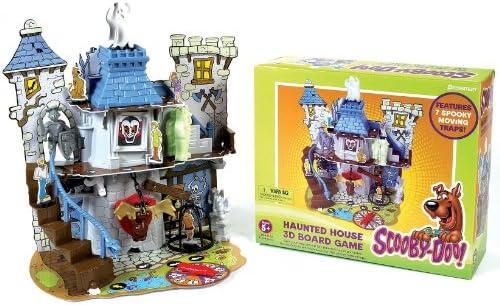 7d730f9c00 Amazon.com  Pressman Scooby-Doo! Haunted House Game  Toys   Games