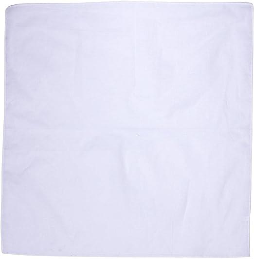 Bandanas de algodón de color sólido (5 colores diferentes ...