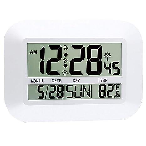 FAS1 - Reloj Digital de Pared con indicador de Temperatura ...