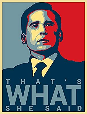 "Michael Scott Quote - Office Hope Poster Paper Print 12""X18"" By A-ONE POSTERS"