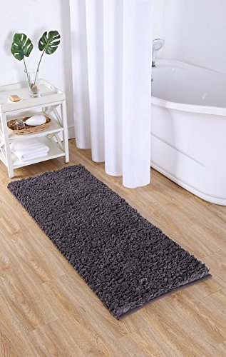 VCNY Home Paper Shag Bathroom Rug, 24