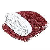 Portable Professional Badminton Net Indoor Outdoor Sport Burgundy New