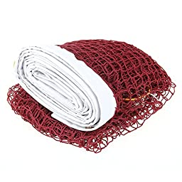 Portable Professional Badminton Net Indoor Outdoor Sport Burgundy New