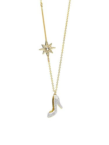 Amazon n2 by les nrides glass slipper magic wand long n2 by les nrides glass slipper magic wand long necklace white gold aloadofball Images
