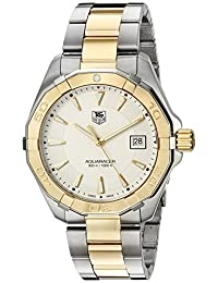 TAG Heuer Men's 'Aquaracer' Swiss Quartz Stainless Steel Dress Watch (Model: WAY1120.BB0930)
