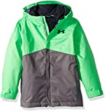 Under Armour Boys' Storm Freshies Jacket, Lime Twist/Graphite, Youth X-Large
