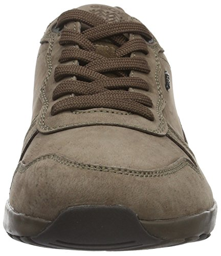 Geox U Jepson E, Zapatillas Para Hombre Braun (CIGARC6007)