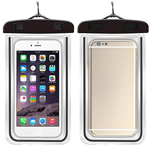 Adoeve 1Pc Outdoor Practical Portable Waterproof Phone Bag with Lanyard Cases