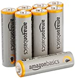 #9: AmazonBasics AA Performance Alkaline Batteries (8-Pack) - Packaging May Vary