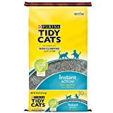 Tidy Cats Cat Litter, Non-Clumping, Instant Action, 30-Pound Bag, Pack of 1