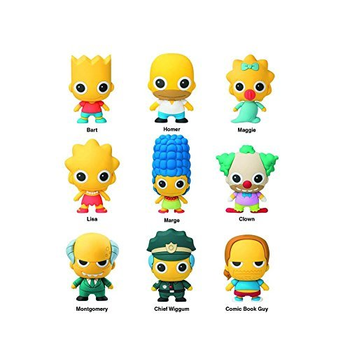 The Simpsons Figural Llavero (1 Blind Bag)https://amzn.to/2Pxv0oW