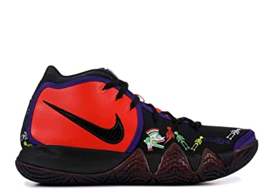 on sale f7fdd 539db Nike Kyrie 4 Day of The Dead TV PE 1 CI0278 800 Men's Basketball Shoes