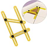 Angle-izer Template Tool, Sunmall Multi-Angle Measuring Ruler, Measures All Angles Tool for Handymen Builders Craftsmen