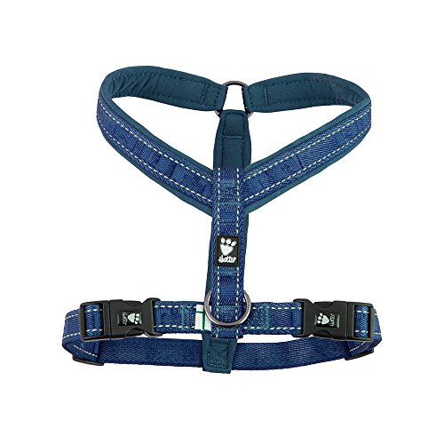 Hurtta Casual Padded Dog Y-Harness, River, 28 in