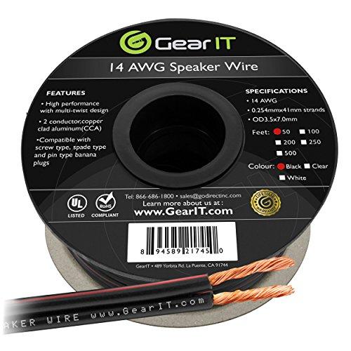 14 awg speaker wire - 5