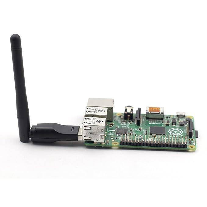 Amazon com: SunFounder RT5370 USB Wireless Network Wifi Adapter for