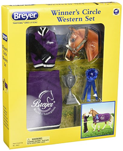Breyer Traditional Winners' Circle Toy Accessory Set - Western ()