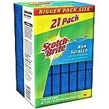 Scotch-Brite Non-Scratch Scrub Sponges - 21 Pack