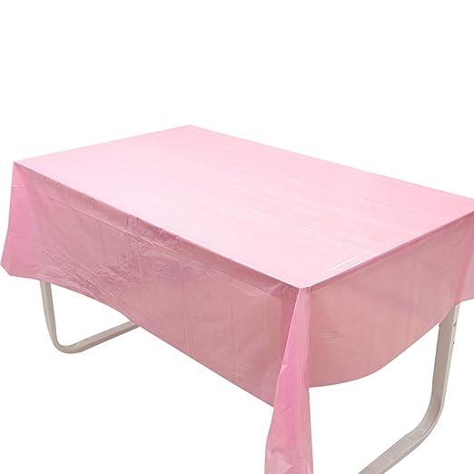 Monbedos - 1 mantel de unicornio rosa con diseño de nubes y ...